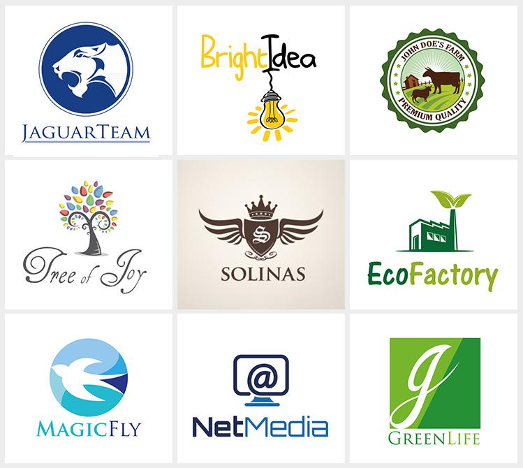 Création de logos commercialisés