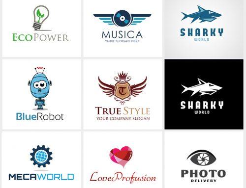 Réalisation de logo template commercialisés (client : Envato)